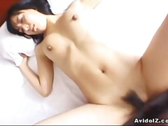 asian, cream pie, brittney ray