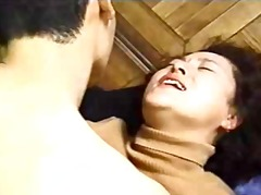 Japanese Mom And Son's fri... - 06:48