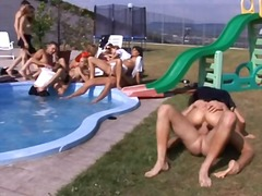 Swimming Pool Sex Party! video