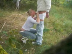 Big titted german fucking outdoor -- ...
