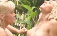 Devon And another blonde - great lesbian work