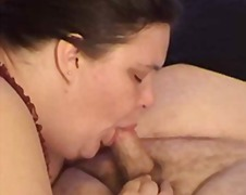 BBW Wife Giving Some Great Head