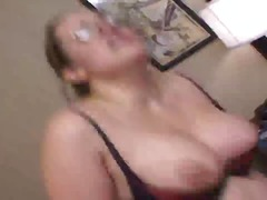 Ugly Bitch With Glasses Squirts when ...