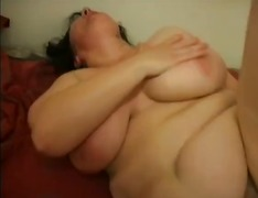 Big milf with hairy pu...