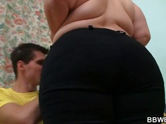 Thumb: Big girl is banged on ...