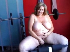 Xhamster - Big mature solo fun