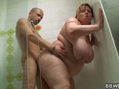 Thumb: Huge titted fatty scre...