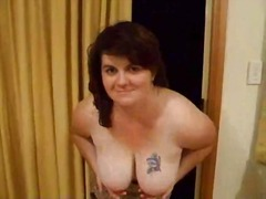 Strip tease by bbw