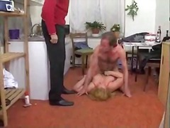 Blonde German mature BBW gets fucked