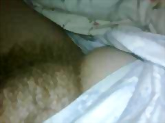 Big round hairy mound. video