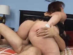 BBW Trista's big butt ... video