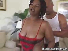 Hot BBBW Tiger Gets It On video