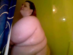 First time on video of me in the shower