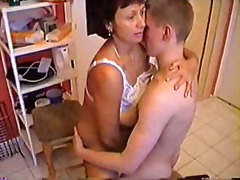 Russian Mature Fucks Y...