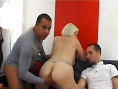 bbw, german, gangbang, group sex