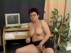 Chubby Mature and her ... video