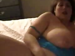 Thumb: BBW woman playing with...