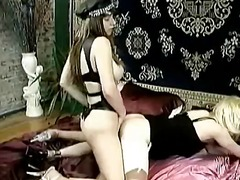 Mistress fucks her sis... video