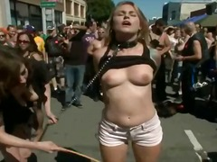 public nudity, bdsm