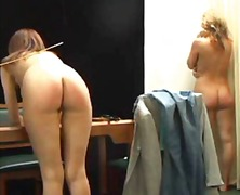 Front view caning