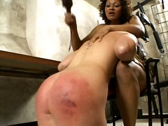 Ebony Ass Beater 1