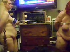 Xhamster Movie:Titty tug of war