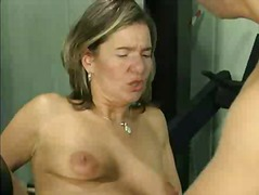 Blonde mature anal perverse fisting g...