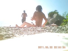 hidden cams, beach