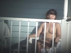 Nude Pool - on Balcony