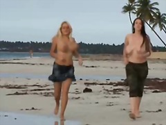 Thumb: Topless on the beach
