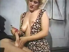 Big tits handjob with oil video