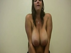 Jerk of on mommy JOI video