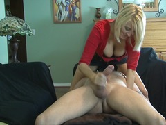Dominant MILF with Huge boobs takes r...