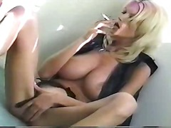 Thumb: Big Tit Blonde Smoking...