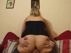 Big Titted Mature Blonde Gets Analalised