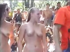 big boobs, public nudity, flashing,