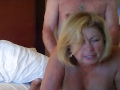 Big Tits Mature Sharing Nipples and G...