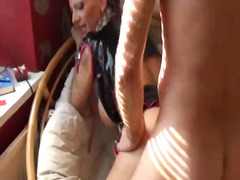 Tattooed German Girl with big Tits ge...