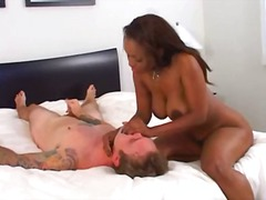 sinnamon love,  big boobs, femdom,