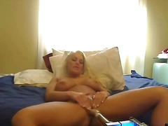 Busty sex machine came... video