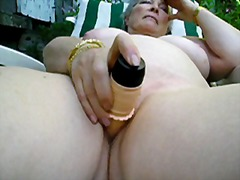 Big titted Mature slut...