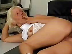 mature, blowjob, big boobs, german
