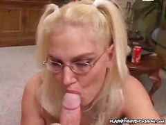 mature, matures, blowjob, blonde