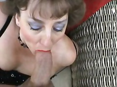 blowjob, mature, british,