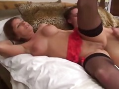 stockings, mature, blowjob,
