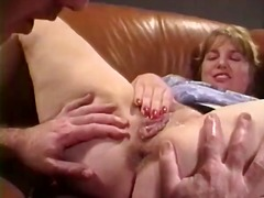 Anal Milf Takes her Teeth out for a B...