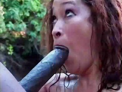 Mature sucks on BBC