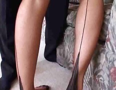 Dirty Mommy In Nylons Gets Her Pussy ...