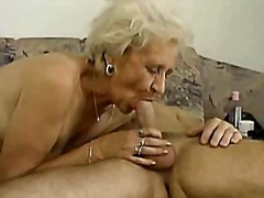 dee,  mature, granny, blowjob, facial,