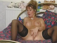 british, stockings, milf